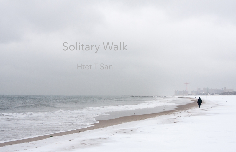 Htet T San Solitary Walk Photo Book